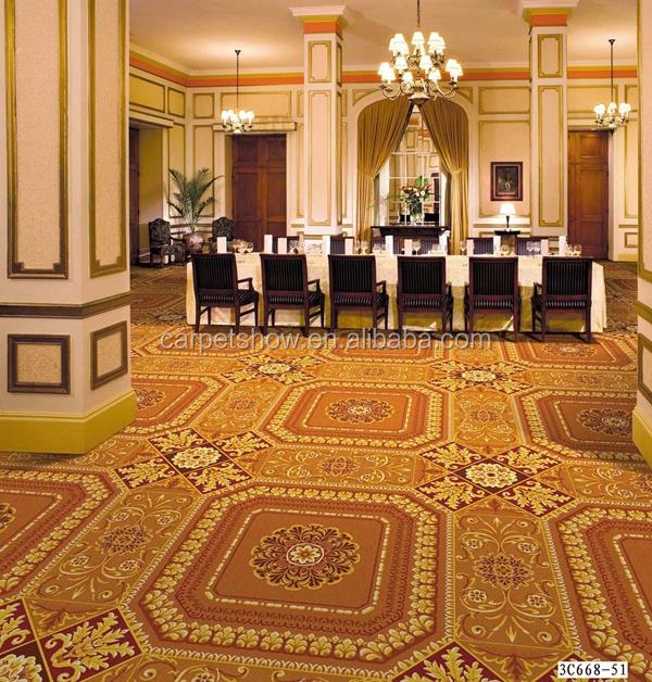 Banquet Hall Design: New Design 100% Nylon Printed Carpet For Hotel Banquet