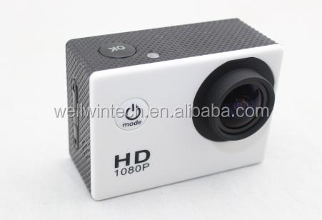 Casque sport 1080p dv full hd h. 264 12mp voiture enregistreur de plongée vélo. action camera