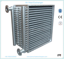 CE Certificate Water Cooled Air Heat Exchanger /Air Radiator for Air to Steam /Thermal Oil for Energy Recovery