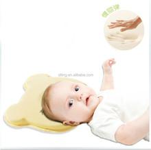 0--4 month Baby Sleep Bear Shape Positioner Infant Support Soft Memory Foam Pillow