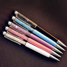 Promotional Crystal Pen Phone Screen Touch Pen for Advertising