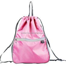 nylon drawstring bag fashion drawstring bag sport backpack