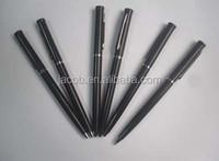 2015 new type promotion black ball pen 1000pcs free shipping brand logo