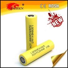 Wholesale LGHE4 battery, ICR18650HE4 18650 2500mAh 3.6V LG he4 battery, LGhe2 35Amps update version
