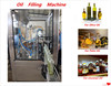 sunflower oil, olive oil and palm oil filling machine production line