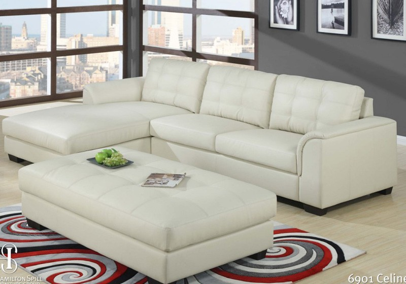 Living Room Sofa Furniture Leather Corner Sofa Designs Metal Leg Sofa 96090