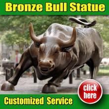 Hot Selling bull statue in chicago Customized Service is Available