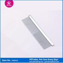 Peine Metálico para mascotas, Innovadores Productos de Aseo para mascotas de tienda de mascotas