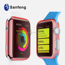 high quality soft tpu cell phone case for apple watch protective cover for apple watch case
