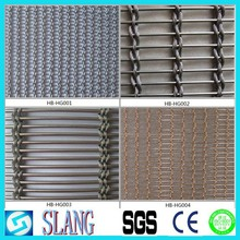 Stainless Steel Architectural Decorative Wire Mesh(Wall Cladding )stainless steel decorative wire mesh, curtain wire mesh