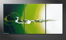 abstract group landscape oil painting designs , wall decoration oil painting