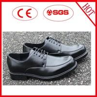 Top 2015 good sale black color dress shoes