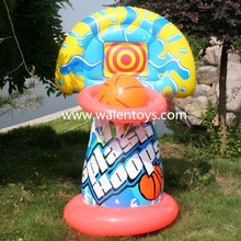 Basketball Hoop Giant shoot ball Inflatable Fun Swimming Pool Toy