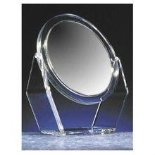 custom design acrylic tabletop mirror with holders