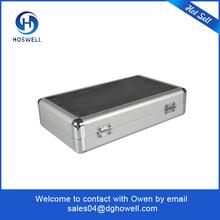hot selling aluminium CD case with lock