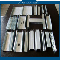 Galvanized steel profile/ Galvanized metal stud/Galvanized metal track