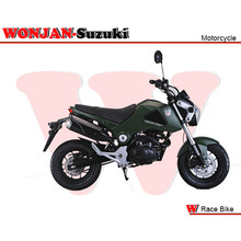 Race Bike (150cc) Wonjan-Suzuki engine, Motorcycle, , Motorbike, Autocycle,Gas or Diesel Motorcycle (WJ150-18 GREEN)