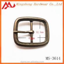 personalized warm men interlocking engraved animal face belt buckle