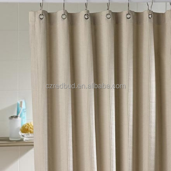 Hot Sale Pvc Coated Waterproof Shower Curtain Fabric By