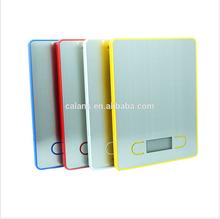 Fashion Design Flat Electronic Kitchen Scale, 5KG
