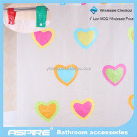 we are one Wholesale Checkout new fancy PEVA shower curtains