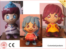Artificial Waterproof Cartoon Character Model for Advertising