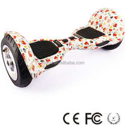 Mini 10 inch 2 wheel hoverboard scooter, electric scooter with big wheels
