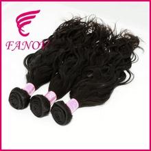 Full fix hair 100% brazilian big wave hair extension grade 6a virgin brazilian water wave human hair