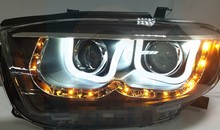 12V LED headlight for TOYOTA HIGHLANAER 2009-2011 hot sell fashion