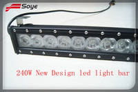 28'' 240W led offroad light bar 4x4 led driving light car accessories led light bar waterproof