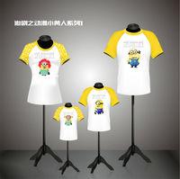 cartoon t shirt for men,family cute couple polo shirt design
