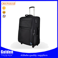 20 24 28 inches business leisure style men and women luggage, waterproof nylon lightweight travel trolley luggage suitcase