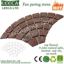 Interlocking laying porphyry wholesale paving stone