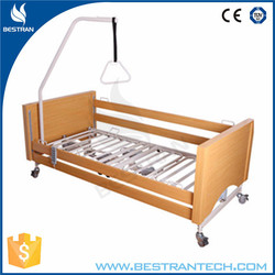 BT-AE027 hospital wooden patient electric nursing bed home care