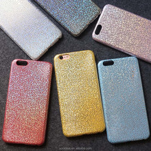 Shining star pattern ultra thin soft pu leather cell phone case for iPhone Samsung