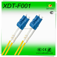 Simplex Soft Indoor Optical Fiber Cable/optical patch cord patch cable