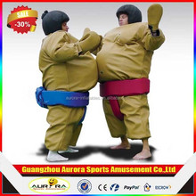 Factory price inflatable sports games/ sumo suits sumo wrestling