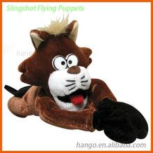 Slingshot Animals Flying Singshot Cat