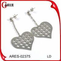 rodium earrings joyas en acero inoxidable dream catcher earrings