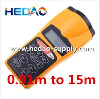 Ultrasonic Distance Measurer Area & Volume Calculator with Laser point