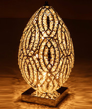American-style Creative and Personality Crystal Table Lamp