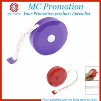 round mini retractable tape measure with logo