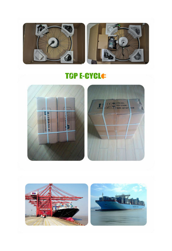 high quality CE pass electric motor kit for bike price 48V 500W