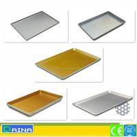 bakery bread baking tray industrial aluminium baking trays