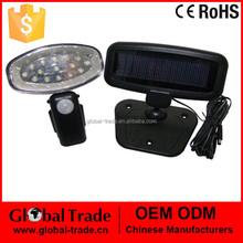 15 LED Solar Power Rechargeable Pir Motion Sensor Security Light Outdoor Garden H0028