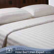Poly-cotton Material 3 Star Hotel Popular 300t Flat Sheet / Duvet Cover-SQJC150416
