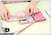 Ladies Universal Wallet Case With Coin Pocket/Change Purse for Samsung Galaxy Note2 Cases