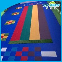 Hot sale colorful kindergarten floor materials
