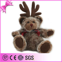 Gergeous popular festival animal plush Christmas bear toy