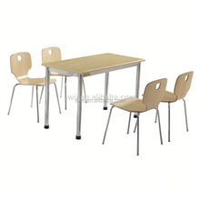 sheesham wood dining table painted chairs